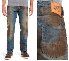Make Pants Hey Fancy Pants These 425 Nordstrom Jeans With Fake Mud
