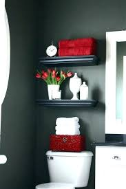 Red And Black Bathroom Accessories Bathroom By With Luxury Remodel