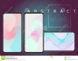 Phone X Abstract Fluid Vector ...