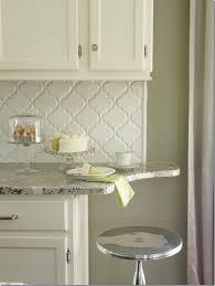 Contemporary Design White Arabesque Tile Stylist And Luxury