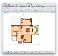 how to add a floor plan to a ms word doent using conceptdraw pro