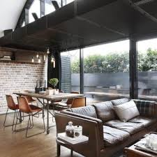 Ideal Industrial Living Room