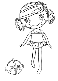 Small Picture Lalaloopsy Coloring Pages For Girls To Print Free With Coloring