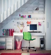 White Understair Home Office