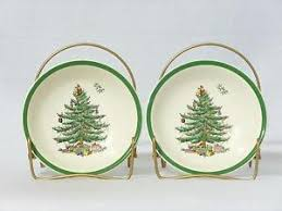 Spode Christmas Tree Soup  Cereal Bowl ASCOT Set Of 4 New With Spode Christmas Tree Cereal Bowls