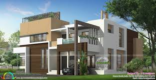 ultra modern house plans awesome luxurious 5 bedroom ultra modern home kerala home design