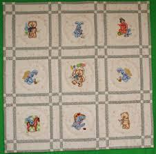 BABY QUILT MACHINE EMBROIDERY PATTERNS | Sewing Patterns for Baby & Machine Embroidery Designs - World Baby Quilt Blocks Set Adamdwight.com
