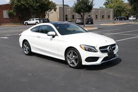 Scores 30 highway mpg and 23 city mpg! Used 2017 Mercedes Benz C300 Sport 4matic Coupe W Nav C300 4matic Coupe For Sale 29 250 Auto Collection Stock 439233
