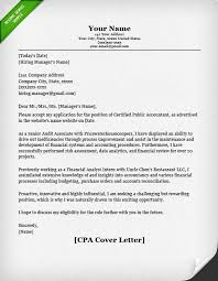 Cover Letter Accounting Position