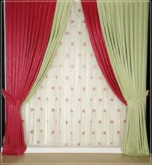 Curtains Best Color Curtains For White Walls Designs Red And White Red Curtain Ideas For Living Room