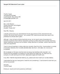 Cover Letter For Resume Sample Pdf Resume For Machinist Machinist