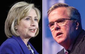 Image result for bush vs clinton