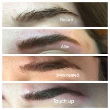 eyebrow trimmer before after. yes, i got my eyebrows microbladed! by top houston lifestyle blogger ashley rose of eyebrow trimmer before after
