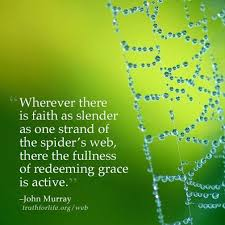 Spider Web Quotes Faith As Slender As A Spiders Web