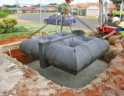lu5000 lattice underground tank under driveway model