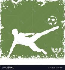 soccer frame royalty free vector image vectorstock