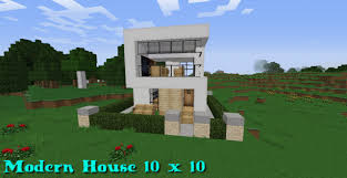 Small Picture Modern house ideas minecraft pe