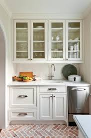 Small Picture Crisp Classic White Kitchen Cabinets Southern Living