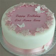 100 Birthday Cake For Girls With Name Cute Kitty Birthday Cake