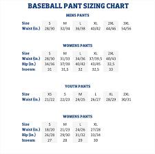 Proper Genuine School Uniform Size Chart Easton Pants Size