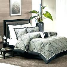 black and grey bedding set comforter sets cream bed uk