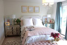 bedroom pink and gold bedding the beds white clothed pillow wooden floor flower pillows pale