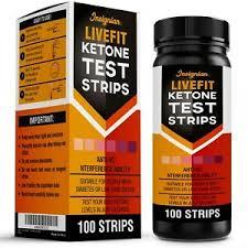 Details About 100 Livefit Ketone Test Strips Urine Analysis Keto Sticks Ketosis Ketostix Diet