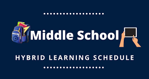 Middle School: Hybrid Schedule | News & Information from Glenview School  District 34