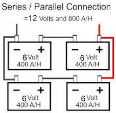 6 volt series wiring photos best image schematic diagram Battery Wiring For 6 batteries series wiringweerv com battery wiring for 6 volt tractor