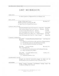 Resume Sample Nursing Assistant Functional Certified For 79 Charming
