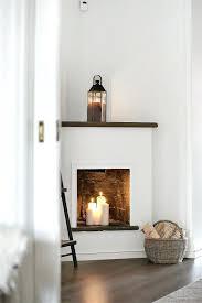 corner faux fireplace corner gas fireplace build faux corner fireplace