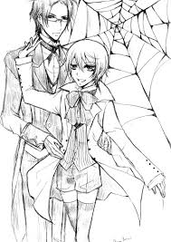 black butler colouring pages free printable holiday on and coloring perfect ciel