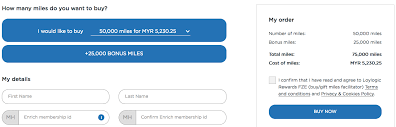 Malaysia Airlines Fliers Enjoy Up To 50 Bonus Enrich Miles