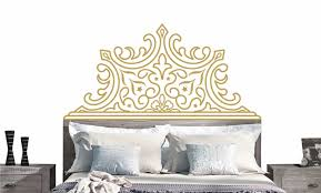 pointed lux headboard decal vinyl wall sticker