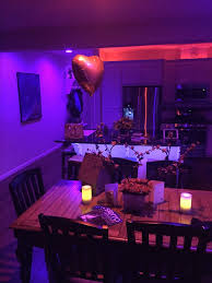 our house on valentine s night lighting ideashue