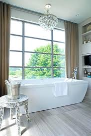 chandelier over tub chandelier over bathtub contemporary bathroom design group chandelier glass candle s chandelier over
