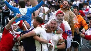 Ukraine v England pictures: Fans ...