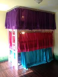 Bunk Bed Curtains Ikea Lightweight And Breathable Bunk Bed Curtains ...
