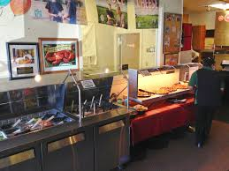 image of round table pizza buffet hours