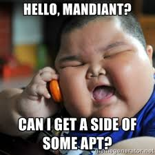 Hello, Mandiant? Can I get a side of some APT? - fat chinese kid ... via Relatably.com