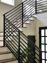 Metal railing stairs Home Black Metal Horizontal Stair Railing Daly Digs Our Finished Staircase With Horizontal Stair Railing Daly Digs