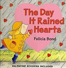 little cornelia is caught in quite an unusual downpour and she knows just what to do delighted to see that it s raining hearts she eagerly catches them as