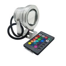 Vdt Lighting Amazon Com Vdt 10w Rgb Led Underwater Light Dc12v Ip67