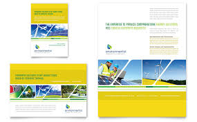 Ad Page Templates Environmental Conservation Flyer Ad Template Word