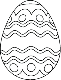 Printable Pictures Of Easter Eggs To Color Free Egg Coloring Pages