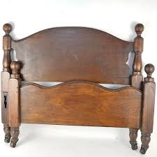 wooden twin beds. Beautiful Beds Antique Wooden Twin Bed  Throughout Beds