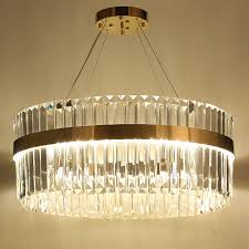 Us 64792 11 Offbigman 2 Layers Crystal Chandelier Modern Lighting Ac110v 220v Lustre Led Kronleuchter Home Decoration Gold Chandelier In