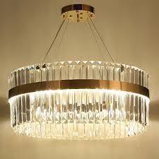Us 64792 11 Offbigman 2 Layers Crystal Chandelier Modern Lighting Ac110v 220v Lustre Led Kronleuchter Home Decoration Gold Chandelier In