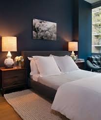 blue wall paint bedroom.  Blue Suzie Haus Interior  Blue Bedroom With Peacock Blue Teal Walls Paint Color  Charcoal Gray  For Wall Paint Bedroom Pinterest