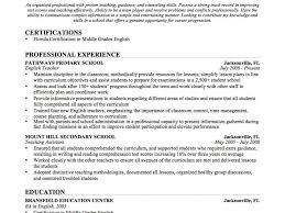 Esl Teacher Resume Example Sample Sample English Language Teacher Resume Template For Teaching 36